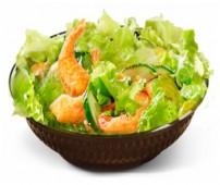 Салат с Креветками + соус