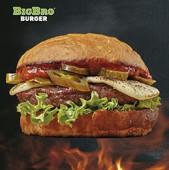 Огонь Бургер (мраморная говядина)
