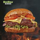 Чизбургер (мраморная говядина)